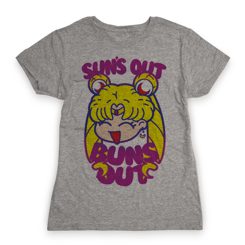 Sun's Out Buns Out Womens T-Shirt