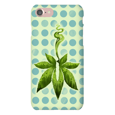 Green Leaf- Cannabis Phone Case
