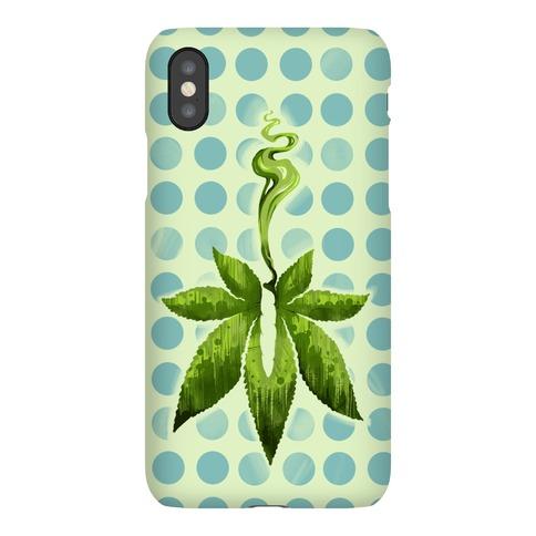 Green Leaf- Cannabis Phone Case
