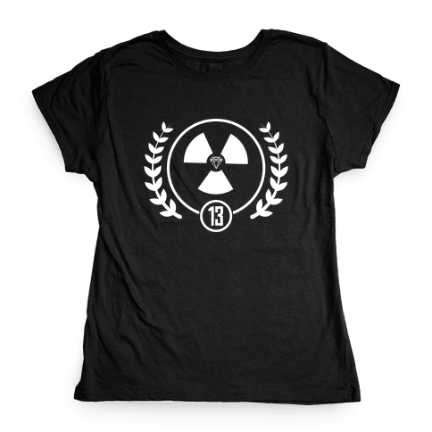 The Nuclear District Womens T-Shirt