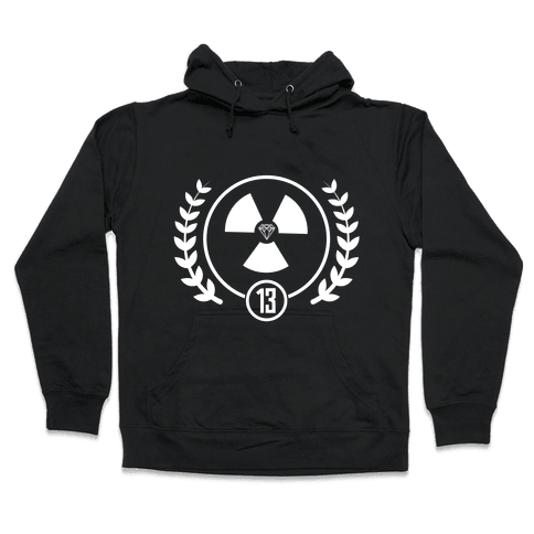 The Nuclear District Hooded Sweatshirt