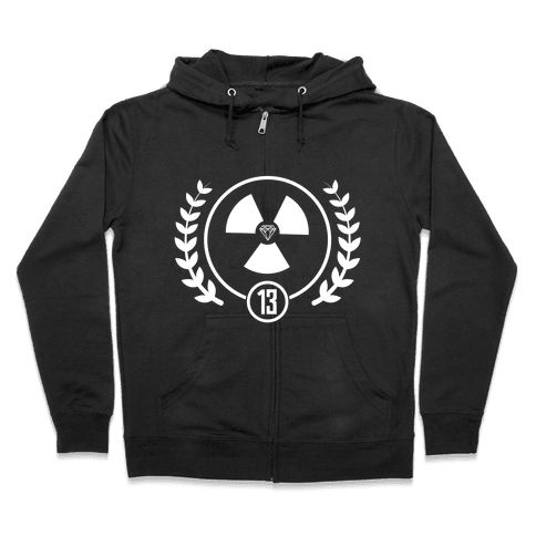 The Nuclear District Zip Hoodie