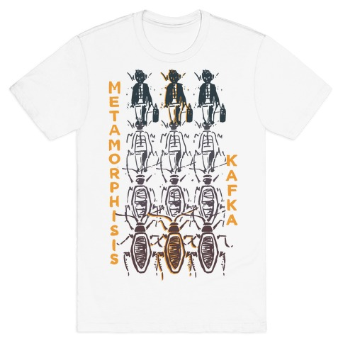 Kafka's Metamorphosis Mens T-Shirt