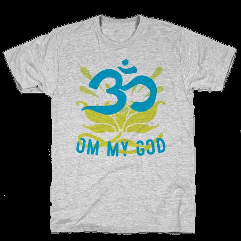 Om My God Mens T-Shirt