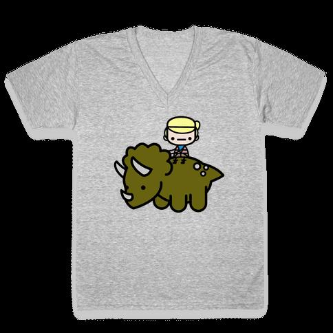 Dr.Sattler V-Neck Tee Shirt