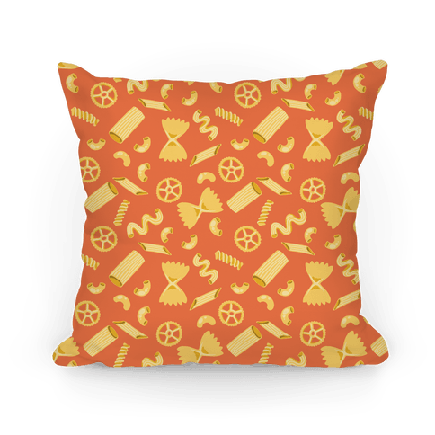 Noodle Pattern Pillow