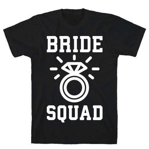 Bride Squad Mens T-Shirt