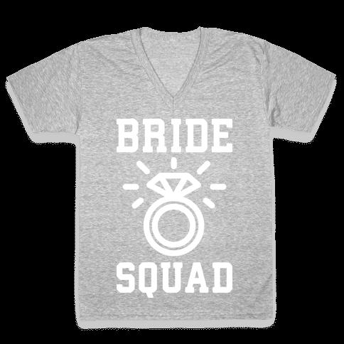 Bride Squad V-Neck Tee Shirt