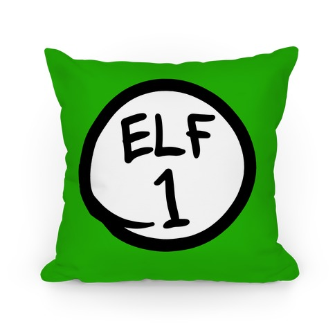 Elf One Pillow