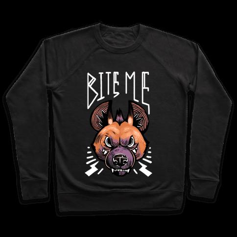 Bite Me- Hyena Pullover