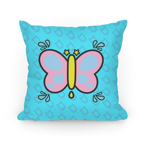 Splash Free! Rei Mascot Pattern Pillow