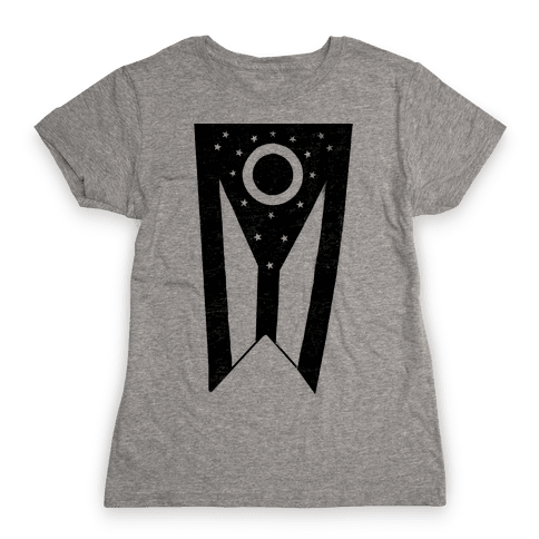 Black Ohio (vintage) Womens T-Shirt