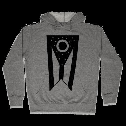 Black Ohio (vintage) Hooded Sweatshirt