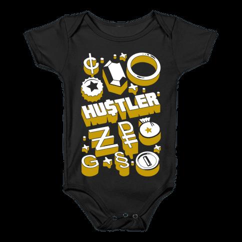 Game Money Hustler Baby Onesy