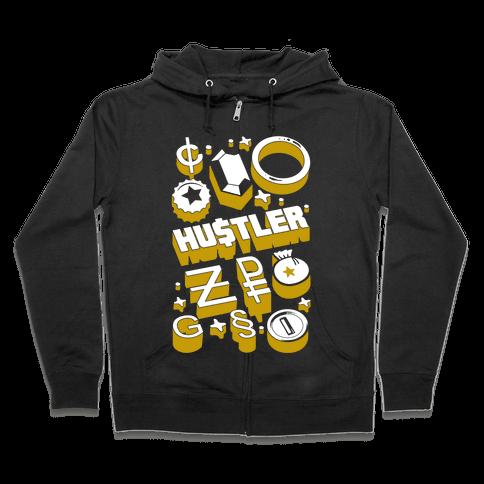 Game Money Hustler Zip Hoodie