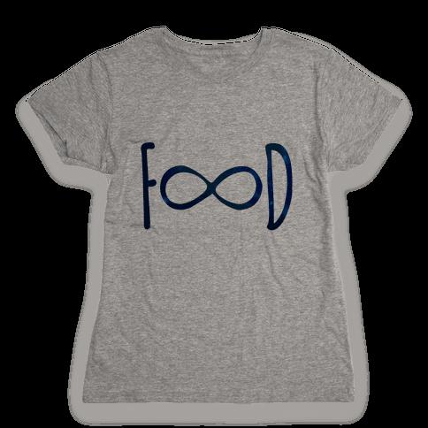 Food Infinity Womens T-Shirt