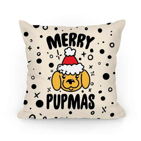 Merry Pupmas Pillow