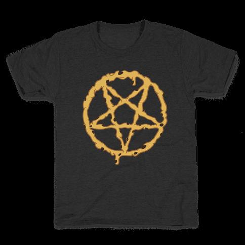 Cookie Dough Pentagram Kids T-Shirt