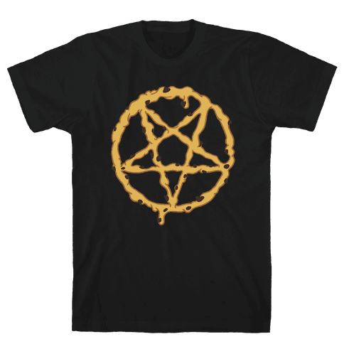 Cookie Dough Pentagram Mens T-Shirt