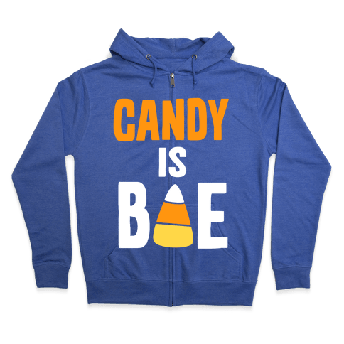 Candy is Bae Zip Hoodie