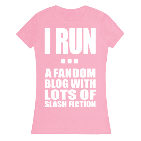I Run A Fandom Blog Womens T-Shirt