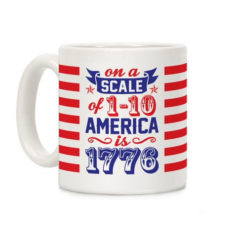 America Is 1776 Coffee Mug