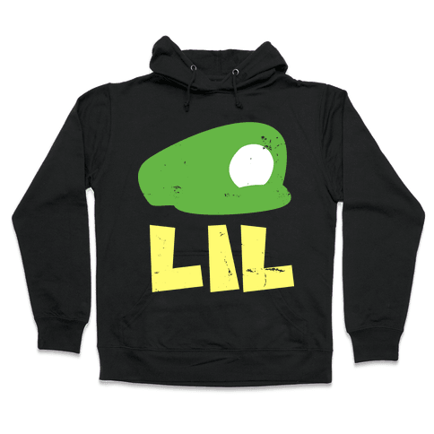 Super Bro Dark (Lil Bro) Hooded Sweatshirt