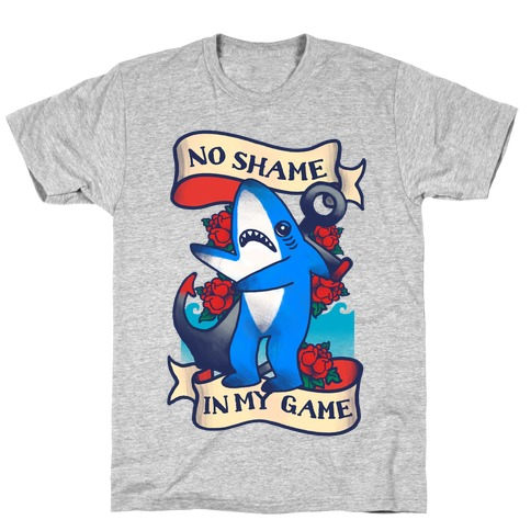 No Shame in My Game (Left Shark Tattoo) T-Shirt