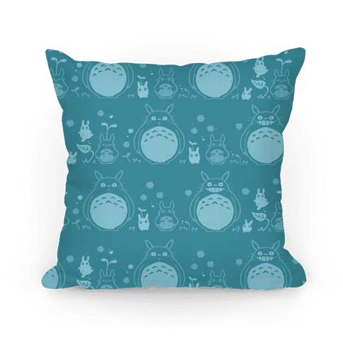 Totoro Pattern pillow Pillow