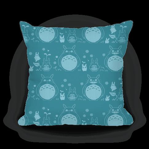 Totoro Pattern pillow
