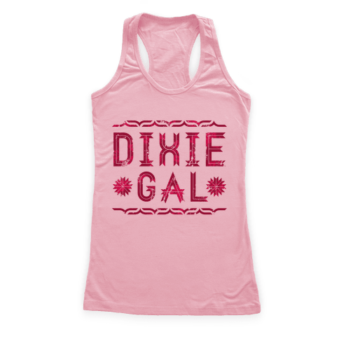Dixie Gal Racerback Tank Top