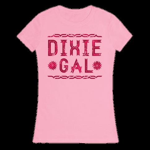 Dixie Gal Womens T-Shirt
