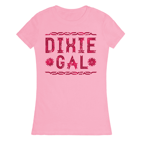 Dixie Gal Womens T-Shirt
