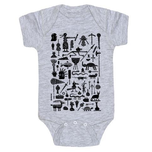Ancient Tools Baby Onesy
