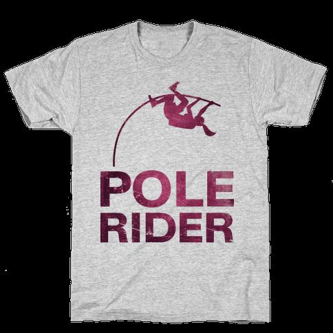 Pole Rider Mens T-Shirt