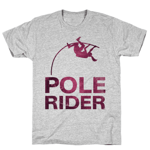 Pole Rider Mens T-Shirt