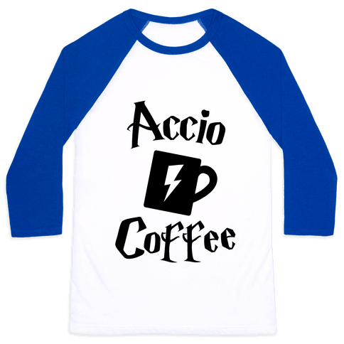 Accio Coffee Baseball Tee