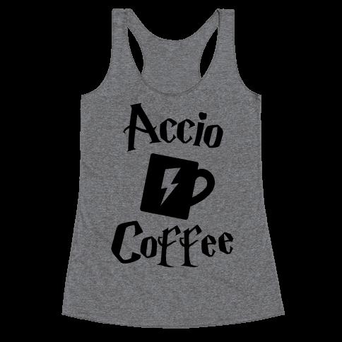 Accio Coffee Racerback Tank Top