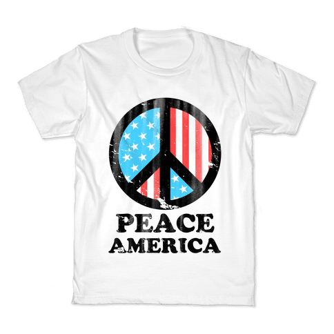 Peace America Kids T-Shirt