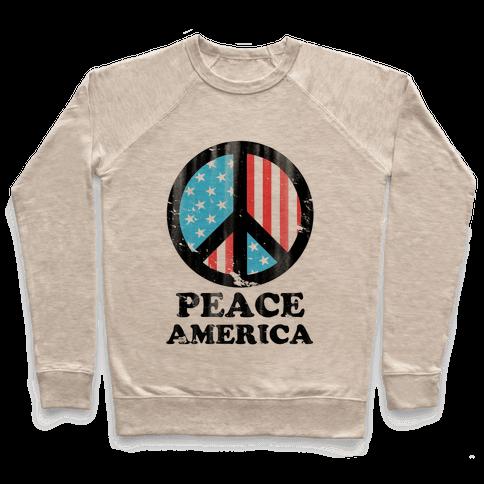 Peace America Pullover