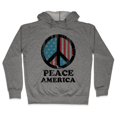 Peace America Hooded Sweatshirt