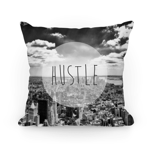 Hustle (NYC) Pillow