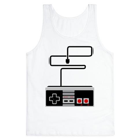 Retro Video Game Controller Tank Top