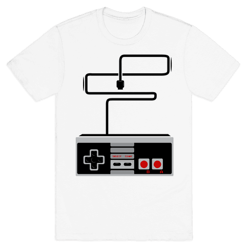 Retro Video Game Controller Mens T-Shirt