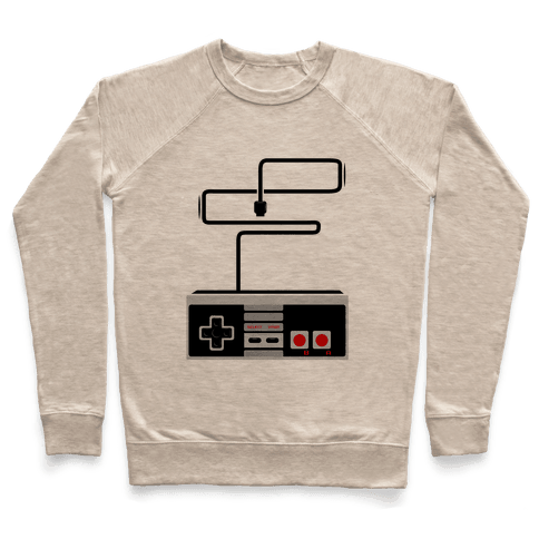 Retro Video Game Controller Pullover