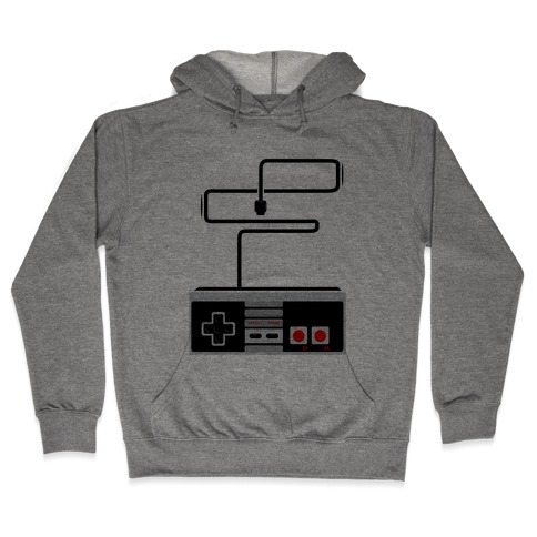Retro Video Game Controller Hooded Sweatshirt