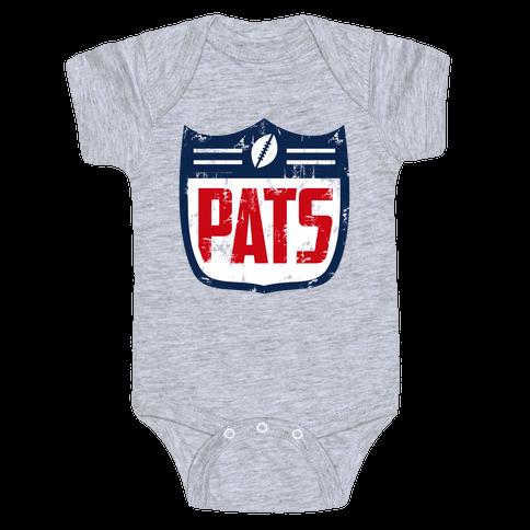 New England Football Baby Onesy