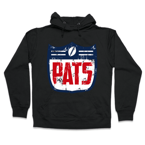 New England Football Hooded Sweatshirt