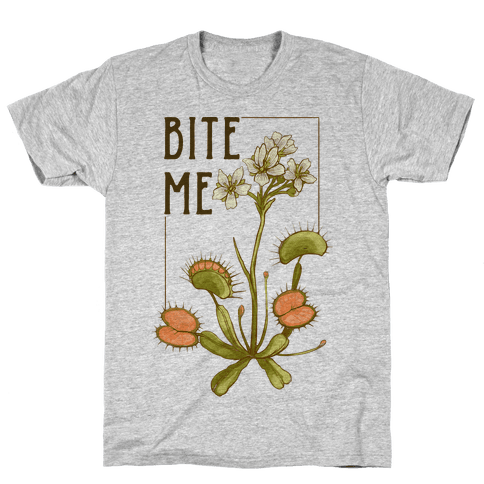Bite Me Venus Flytrap Mens T-Shirt