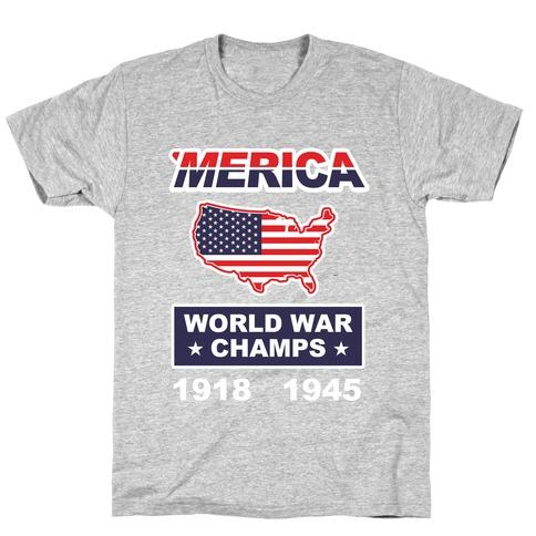 08fc836e Funny America Christmas T-Shirts | LookHUMAN